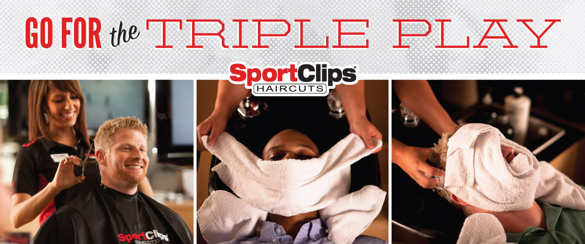 The Sport Clips Haircuts of Kirkwood Triple Play